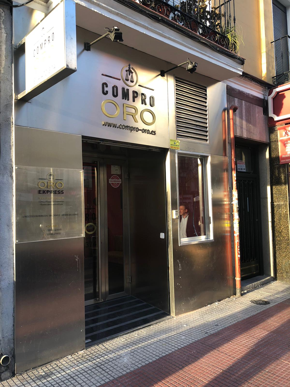 Madrid – Compro oro – Eloy Gonzalo